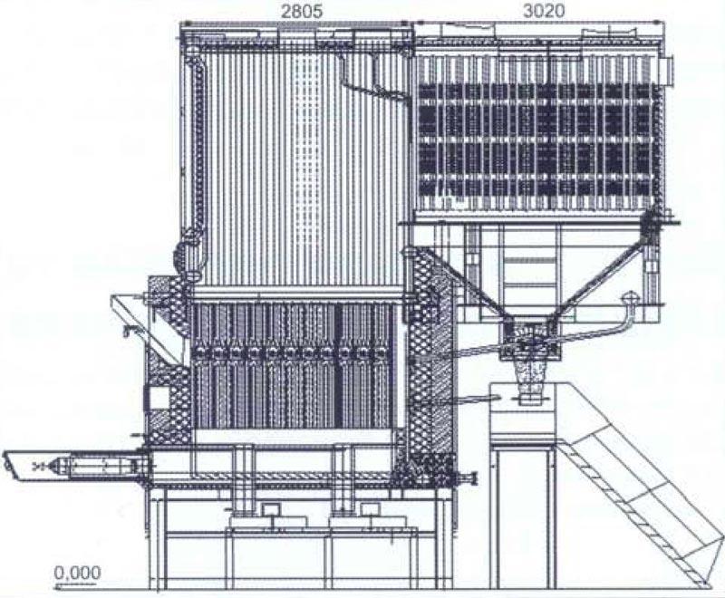 Рисунок 13 - Схема котла